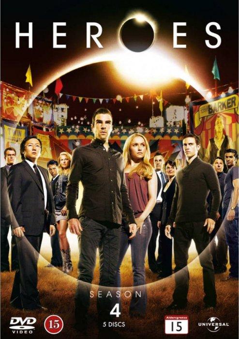 Image of   Heroes - Sæson 4 - DVD - Tv-serie