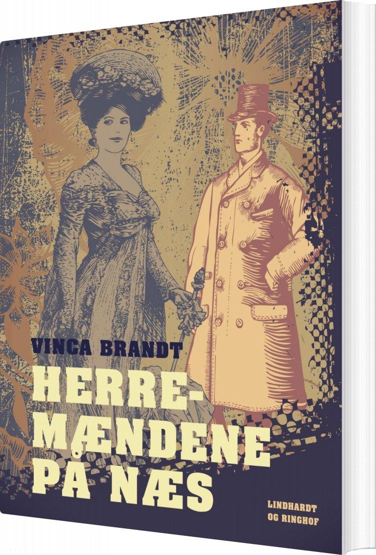 Image of   Herremændene På Næs - Vinca Brandt - Bog