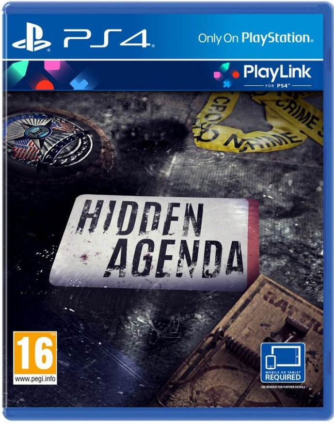 Hidden Agenda (nordic) - PS4