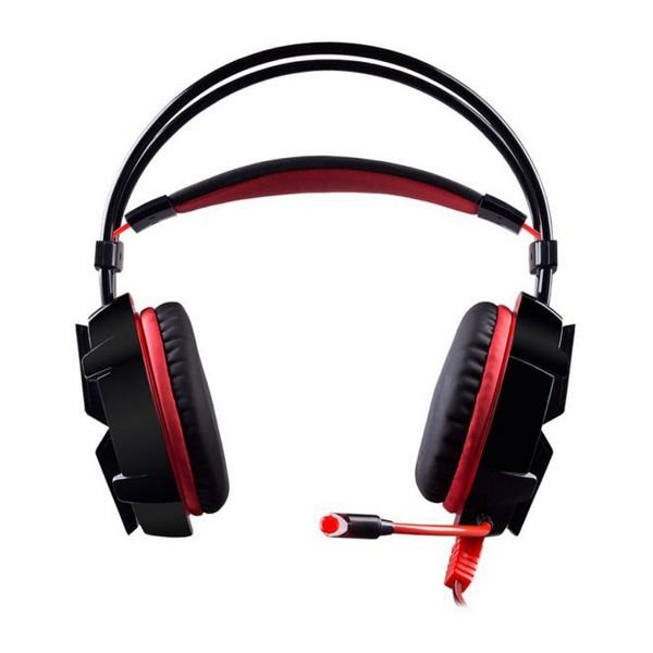 Image of   Hiditec 7.1 Gaming Headset Ghe010001 - Sort Rød