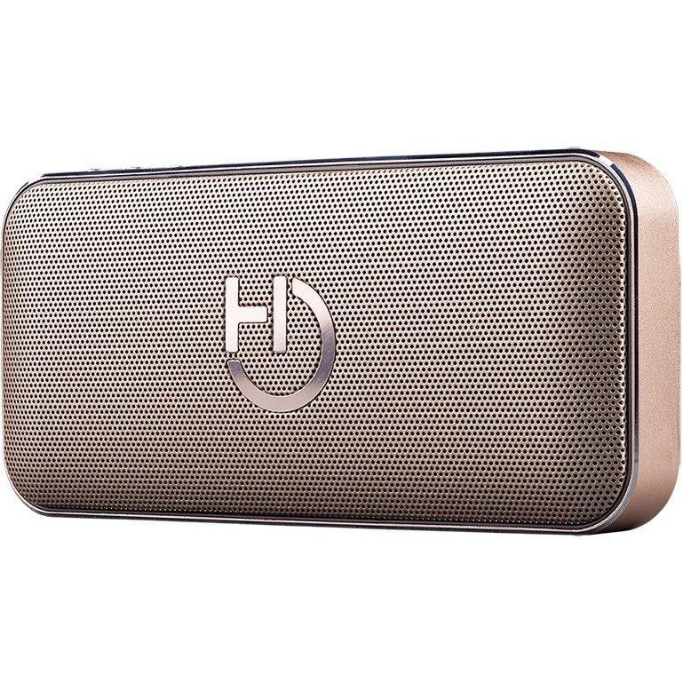 Image of   Hiditec Harum St 2.0 - Trådløs Bluetooth Højtaler - Op Til 24 Timer Musik - Gold