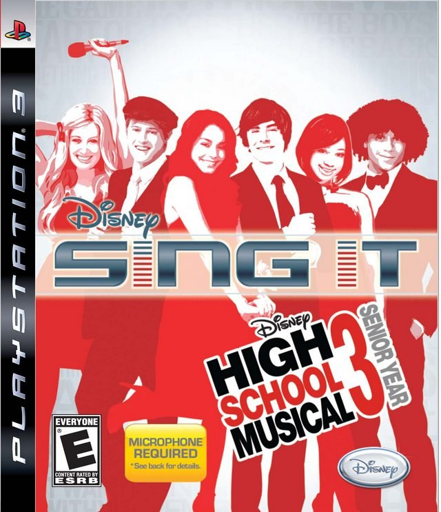 Image of   High School Musical 3: Sing It! - Dk - PS3