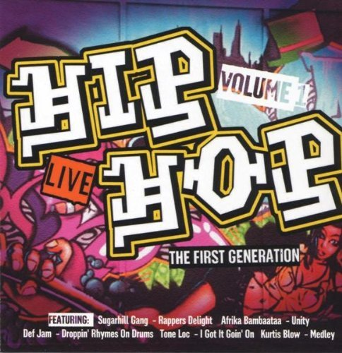 Image of   Hip Hop Live - The First Generation Vol 1 - CD