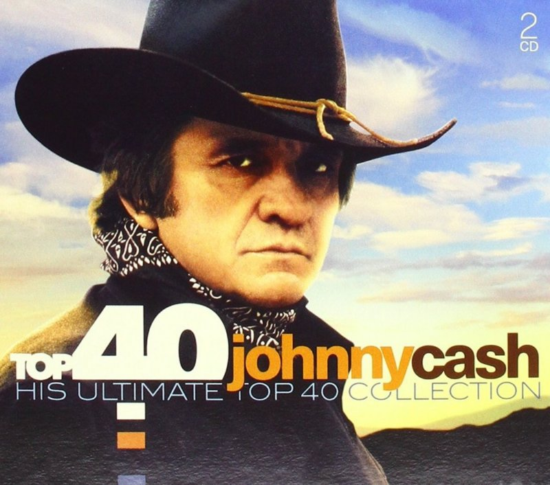 Image of   Johnny Cash - His Ultimate Top 40 Collection - CD