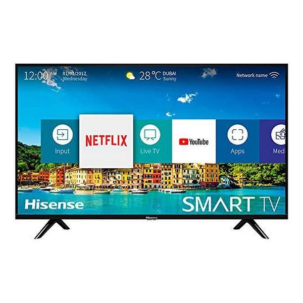 "Image of   Hisense 32"" Smart Tv - Hd-ready Wifi Netflix Youtube Usb - 32b5600 - Sort"