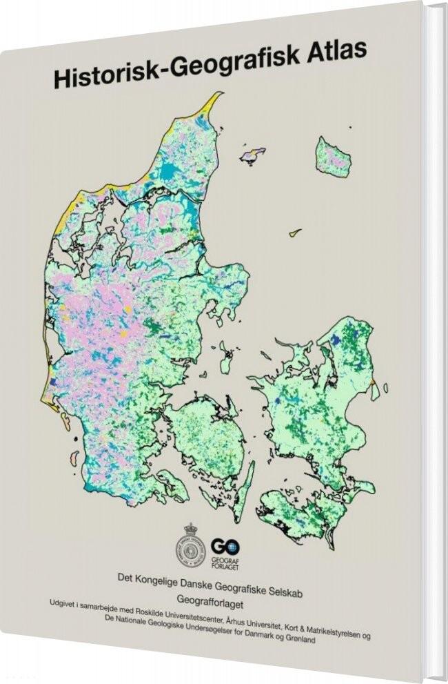 Historisk-geografisk Atlas - Peder Dam - Bog