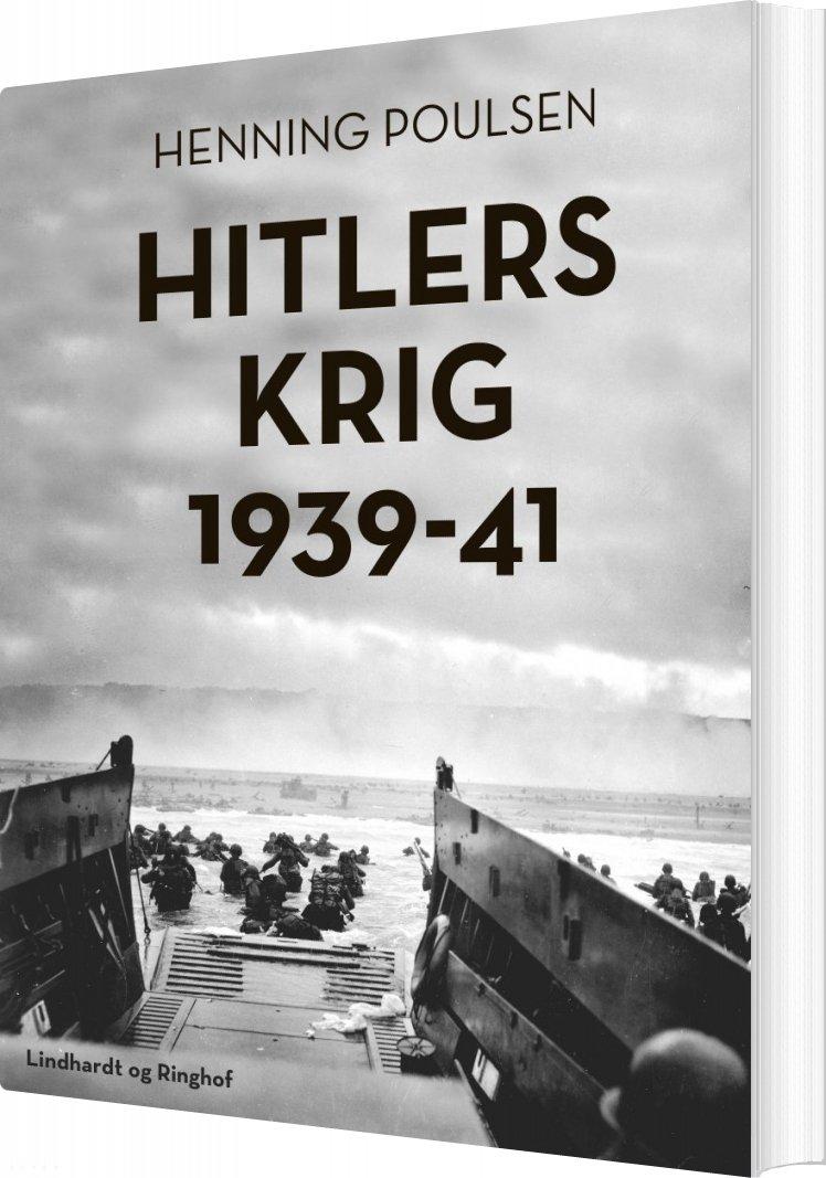Image of   Hitlers Krig 1939-41 - Henning Poulsen - Bog