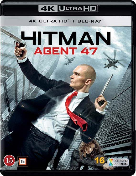 Image of   Hitman - Agent 47 - 4K Blu-Ray