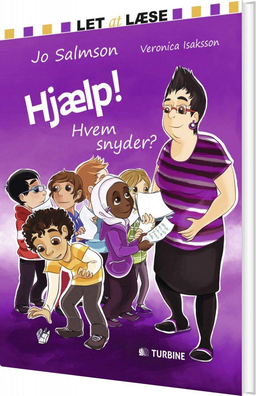 Image of   Hjælp! Hvem Snyder? - Jo Salmson - Bog
