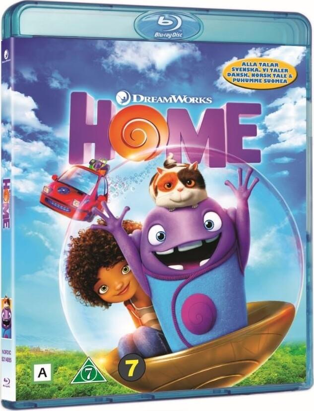 Image of   Hjem / Home - Dreamworks - Blu-Ray