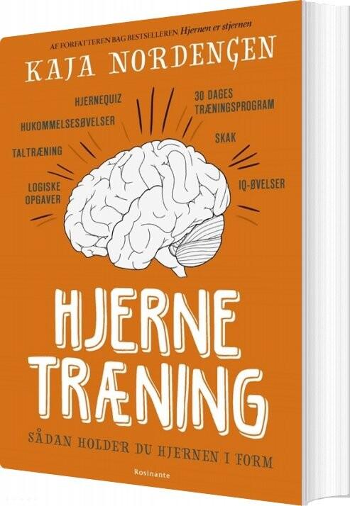 Image of   Hjernetræning - Kaja Nordengen - Bog