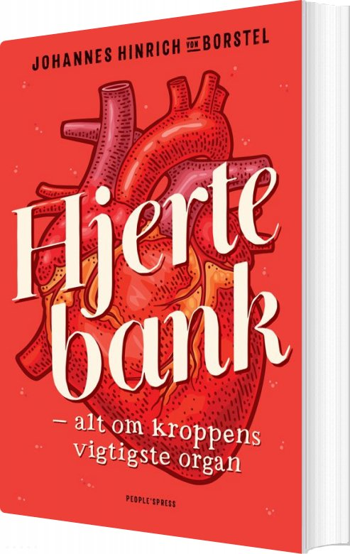 Billede af Hjertebank - Johannes Hinrich Von Borstel - Bog
