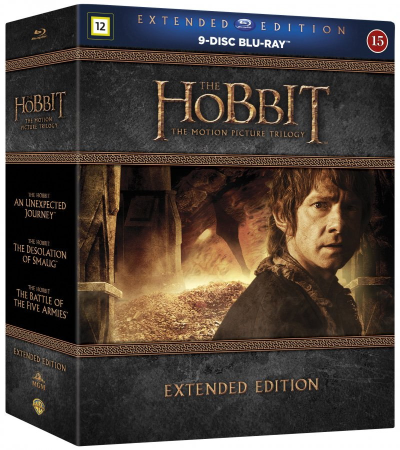 Image of   Hobbitten Trilogy - 1-3 Extended - Blu-Ray