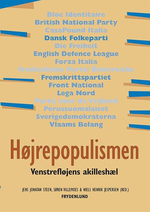 Image of   Højrepopulismen - Jens Jonatan Steen - Bog