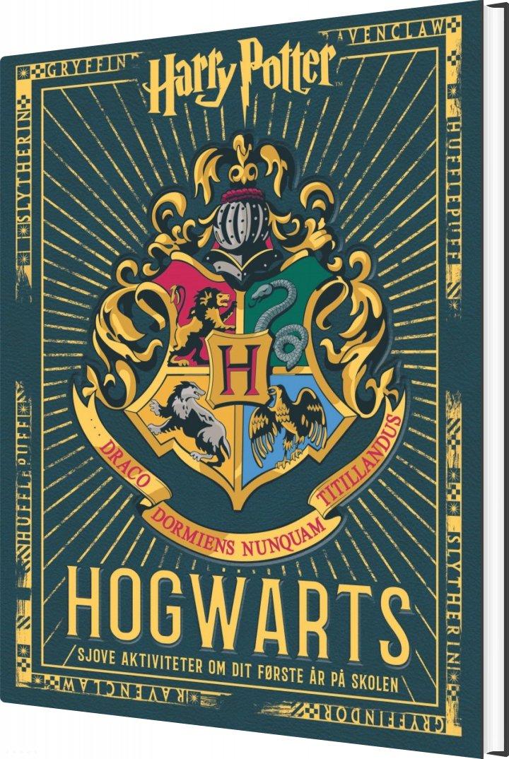 Image of   Hogwarts - Sjove Aktiviteter Om Dit Første år På Skolen - Diverse - Bog