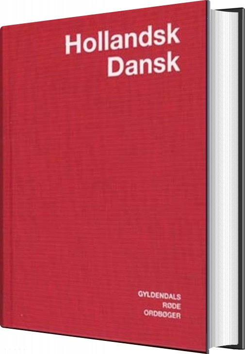 Image of   Hollandsk-dansk Ordbog - Commissie Lexicografische Vertaalvoorzieningen - Bog