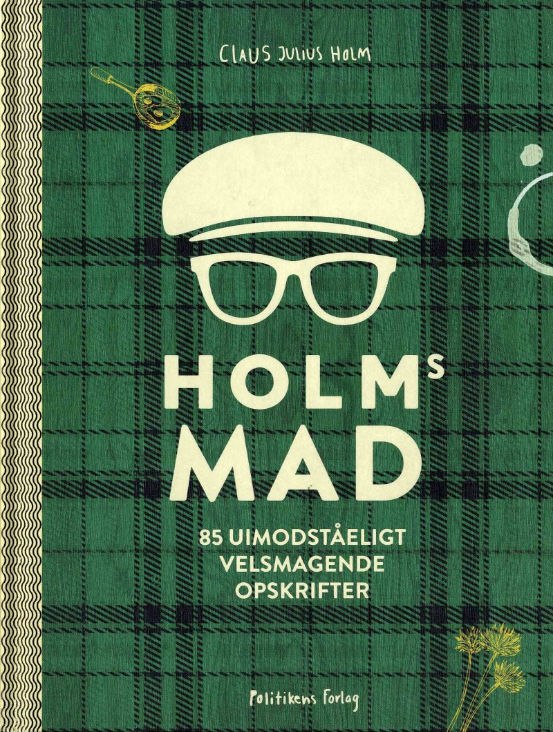 Image of   Holms Mad - Claus Julius Holm - Bog