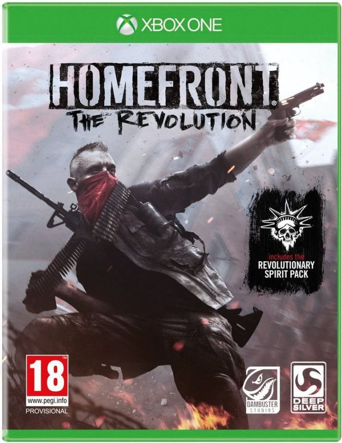 Image of   Homefront: The Revolution (revolutionary Spirit Pack) - Xbox One