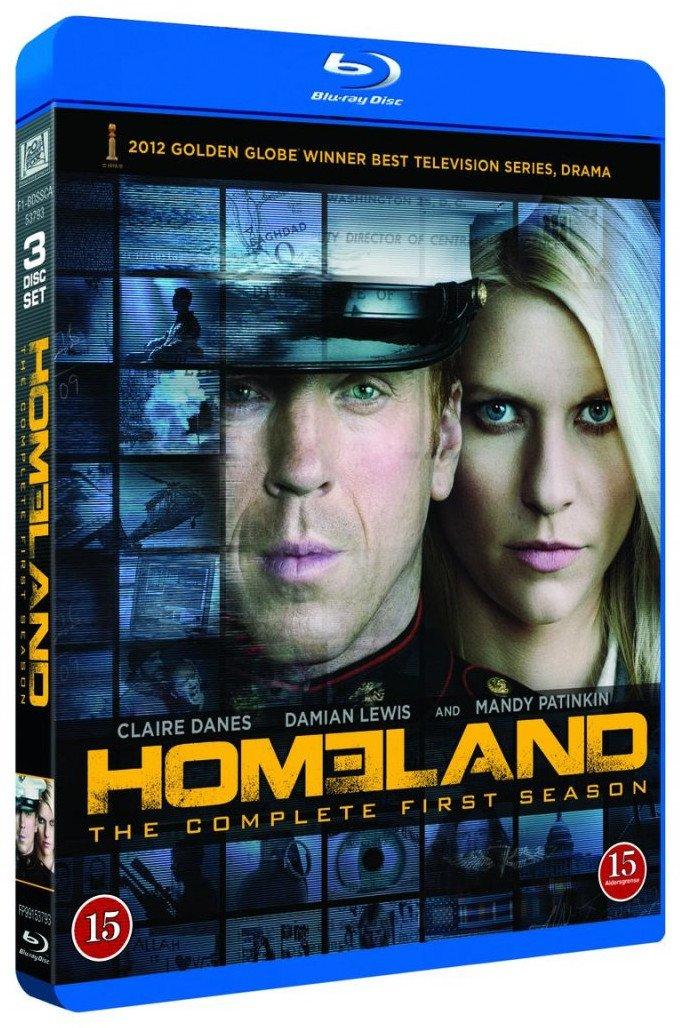 Image of   Homeland - Sæson 1 - Blu-Ray - Tv-serie