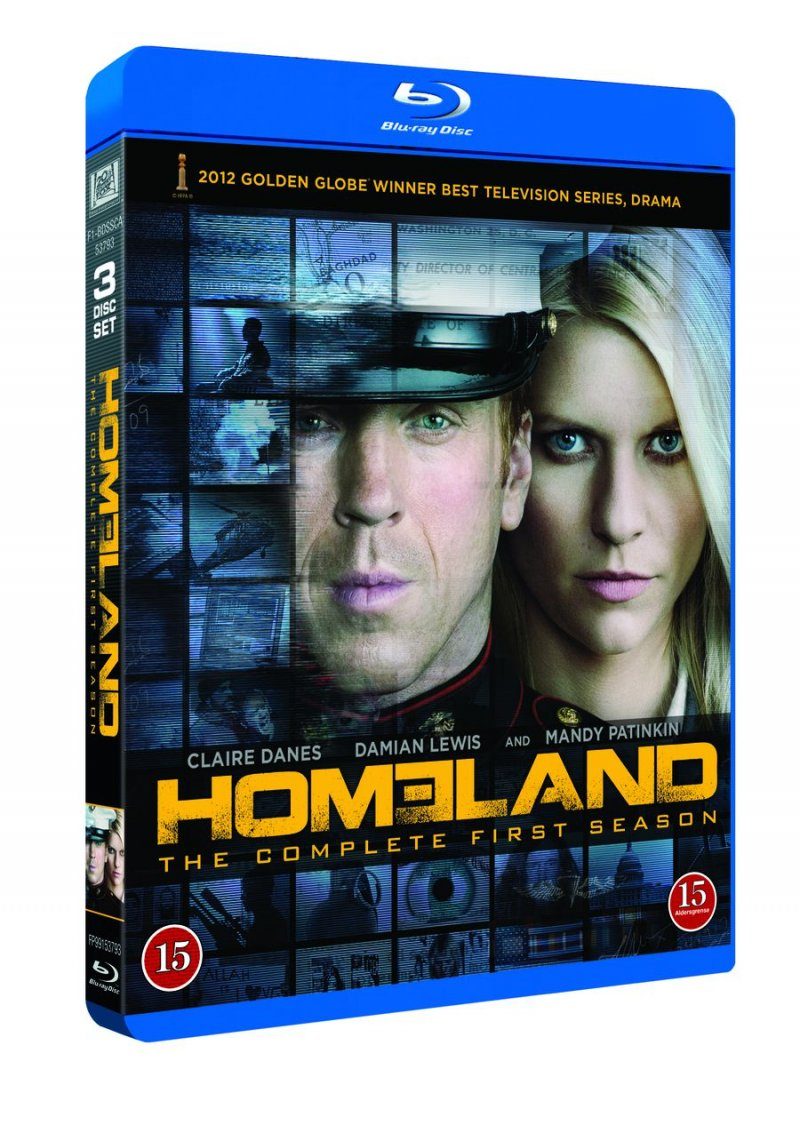 Image of   Homeland - Sæson 1 - Blu-Ray - Tv-serie