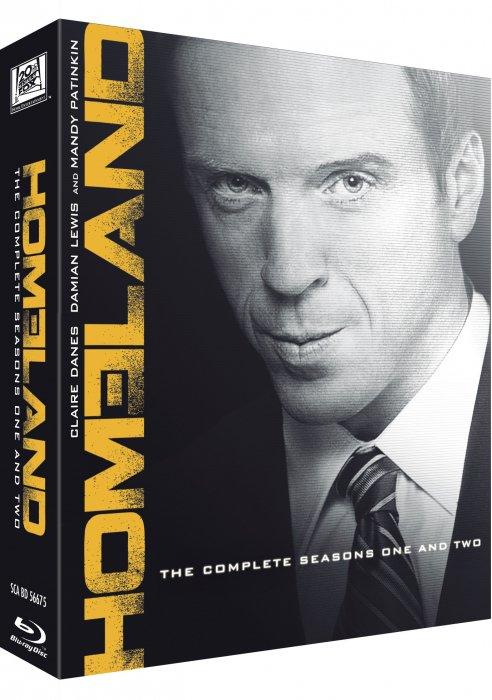 Image of   Homeland - Sæson 1+2 - Blu-Ray - Tv-serie