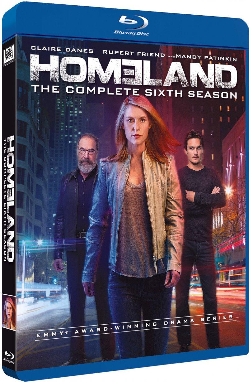 Image of   Homeland - Sæson 6 - Blu-Ray - Tv-serie