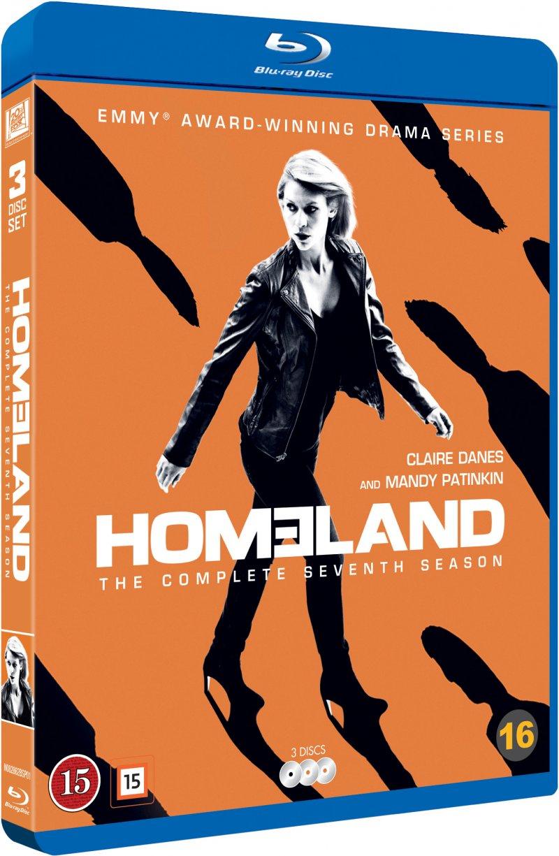 Image of   Homeland - Sæson 7 - Blu-Ray - Tv-serie