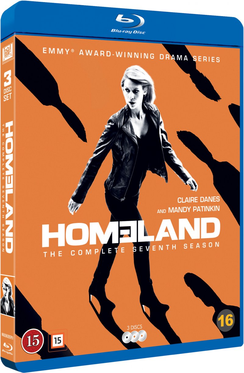 Image of   Homeland - Sæson 7 - Blu-Ray - Tv-serie