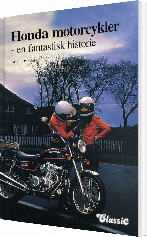 Image of   Honda Motorcykler - Villy Poulsen - Bog