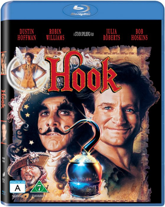 Image of   Hook - Robin Williams - 1991 - Blu-Ray