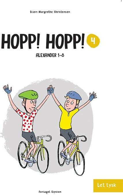 Hopp! Hopp! - Ellen-margrethe Christensen - Bog