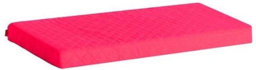Image of   Hoppekids Madrasbetræk - Pink - Quiltet - 9 X 70 X 160 Cm