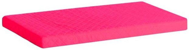Image of   Hoppekids Madrasbetræk - Pink - Quiltet - 9 X 90 X 200 Cm