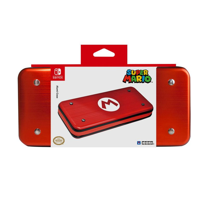 Image of   Hori - Etui Til Nintendo Switch - Alumi Case - Mario
