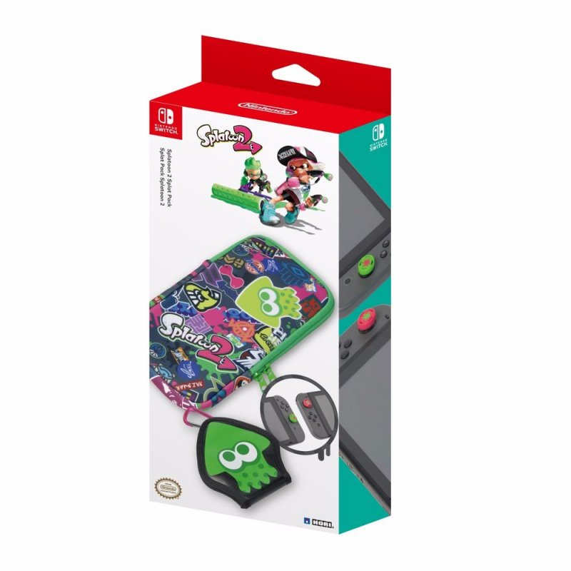 Image of   Hori Splatoon 2 Splat Pack