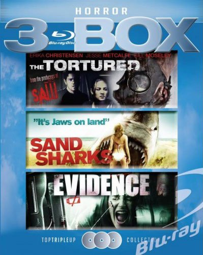 Image of   Evidence // Sand Sharks // The Tortured - Blu-Ray