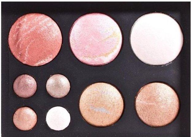 Hot Makeup Bronzing Collection - øjenskygge & Pudder