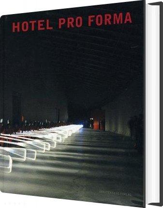 Image of   Hotel Pro Forma - Lars Qvortrup - Bog
