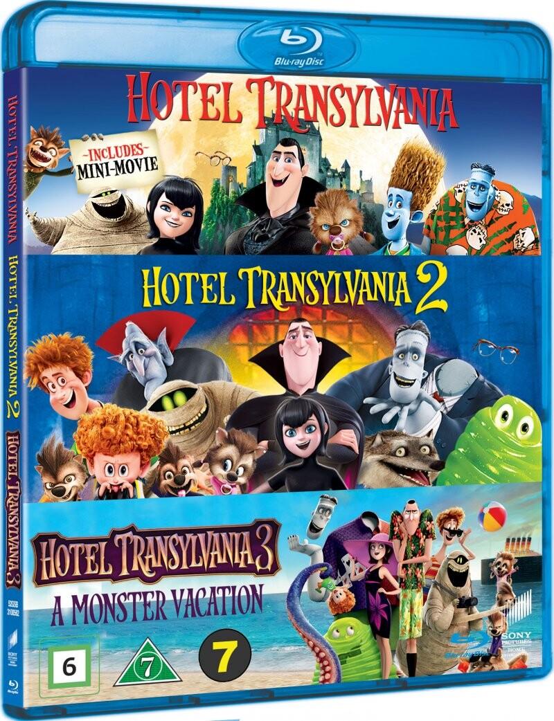 Image of   Hotel Transylvania 1-3 - Blu-Ray