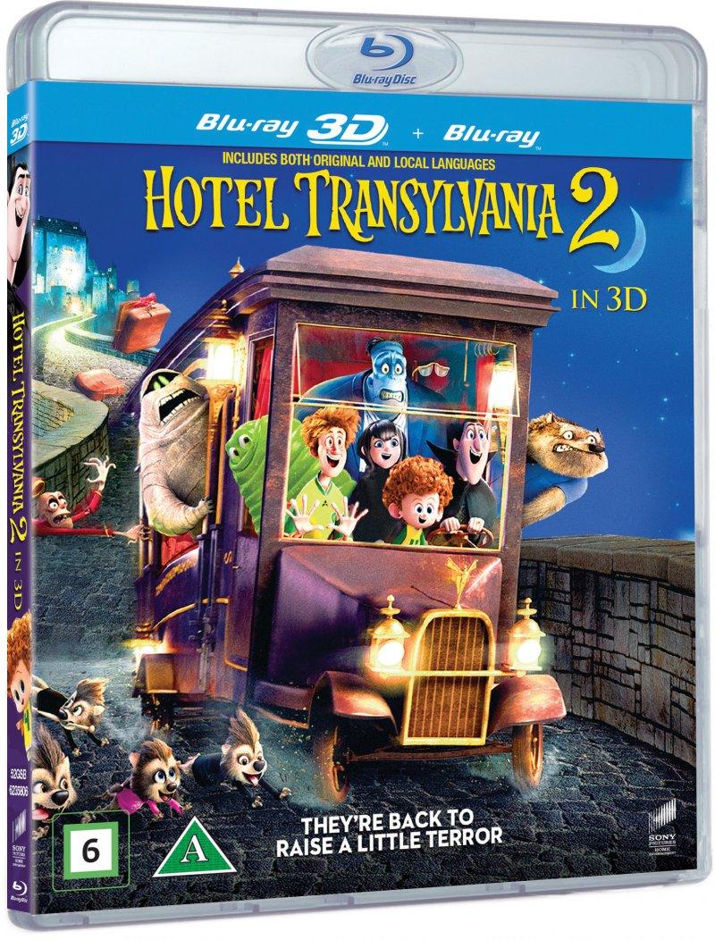 Image of   Hotel Transylvania 2 - 3D Blu-Ray