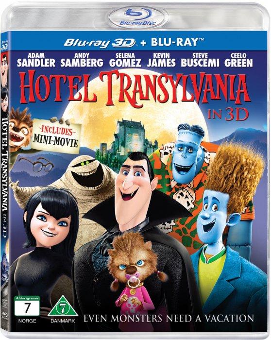 Image of   Hotel Transylvania (2d+3d Blu-ray) -