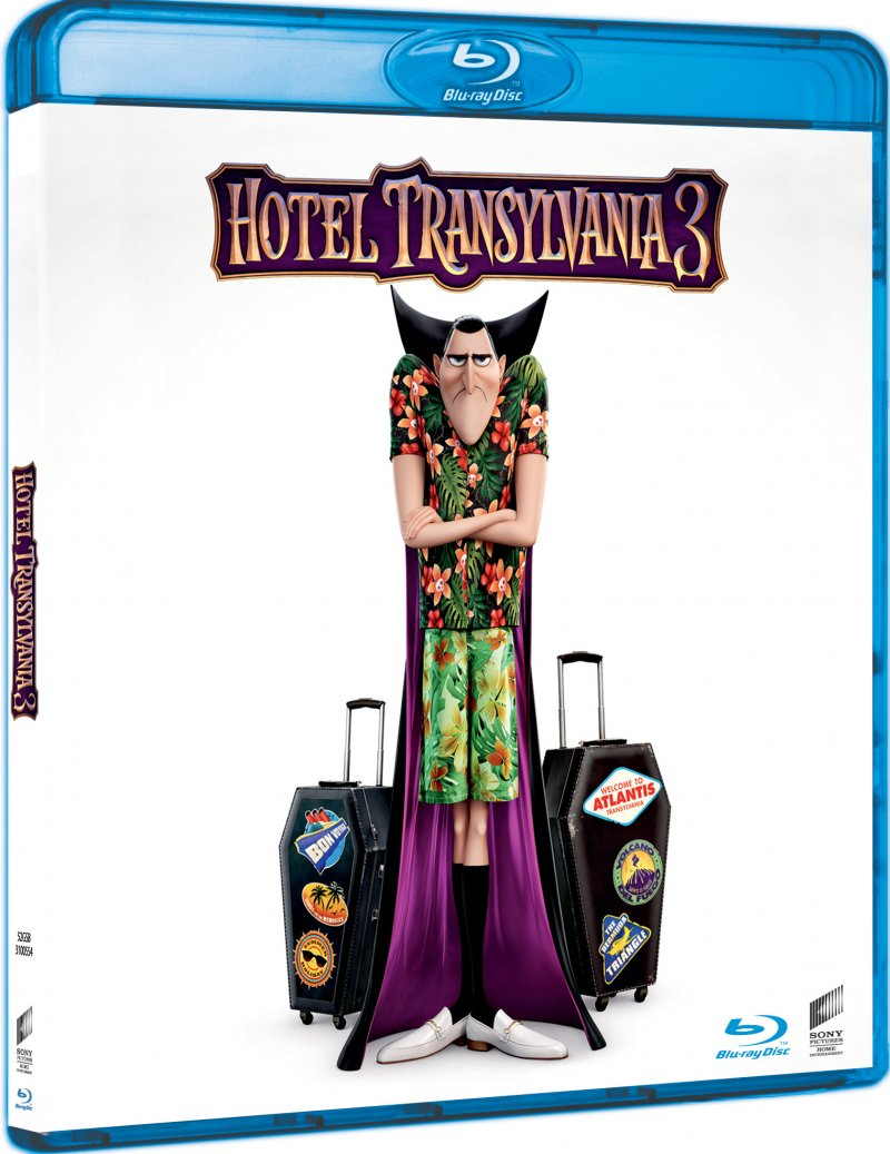 Image of   Hotel Transylvania 3 - Monsterferie / Summer Vacation - Blu-Ray
