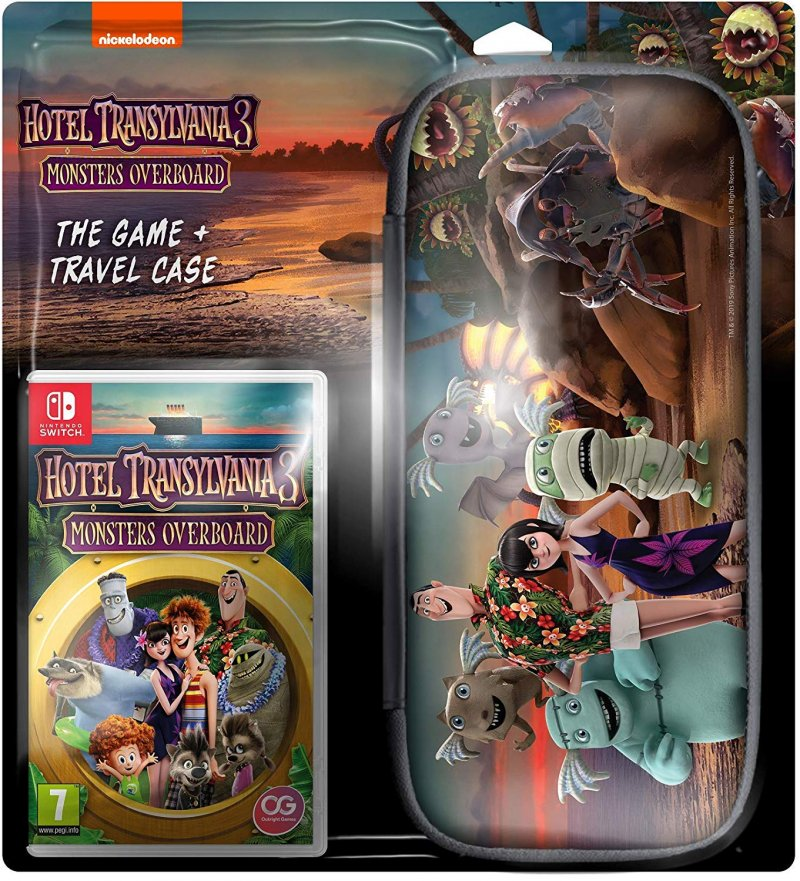 Image of   Hotel Transylvania 3: Monsters Overboard - Case Bundle - Nintendo Switch
