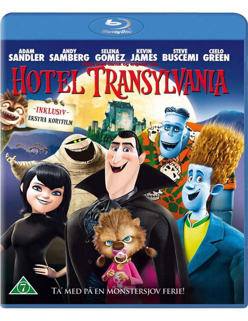 Image of   Hotel Transylvania - Blu-Ray