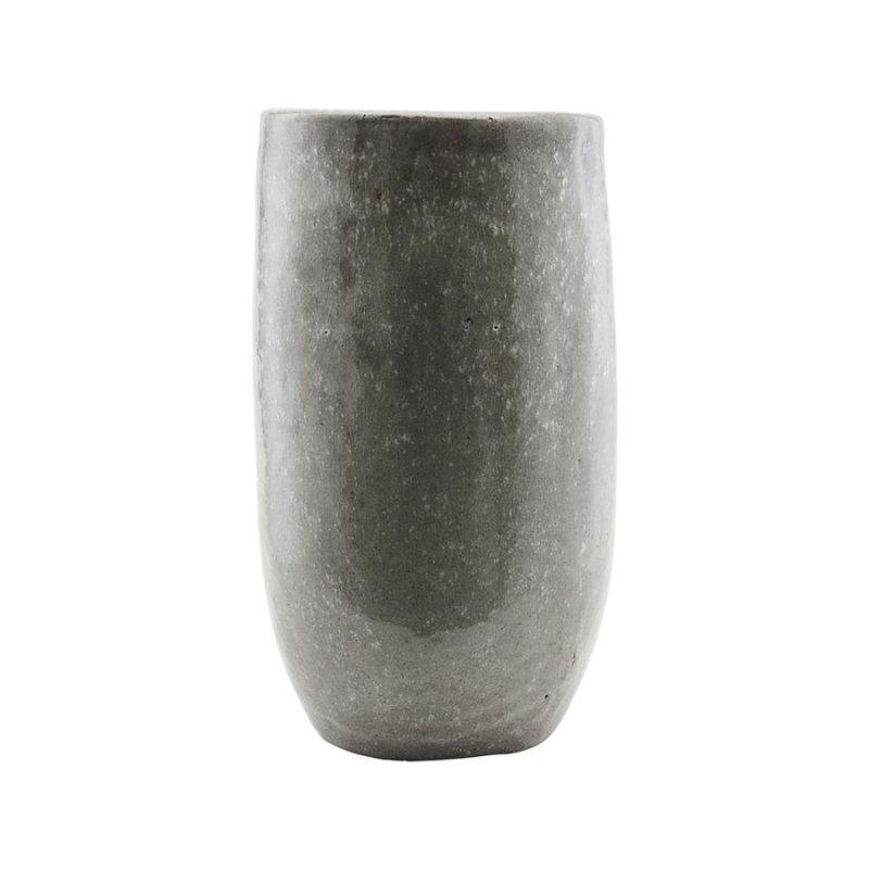 Image of   House Doctor - Earth Large Vase I Grøn