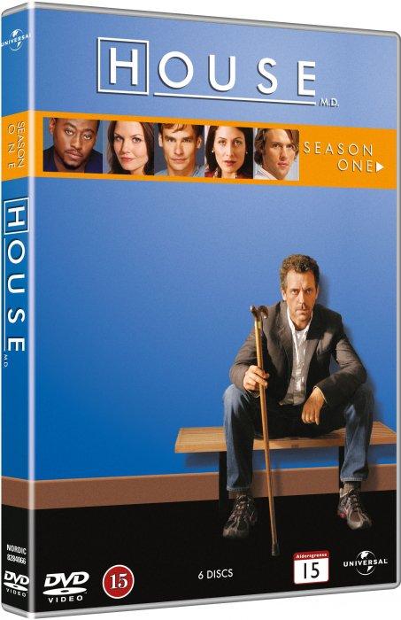House M.d. - Sæson 1 - DVD - Tv-serie