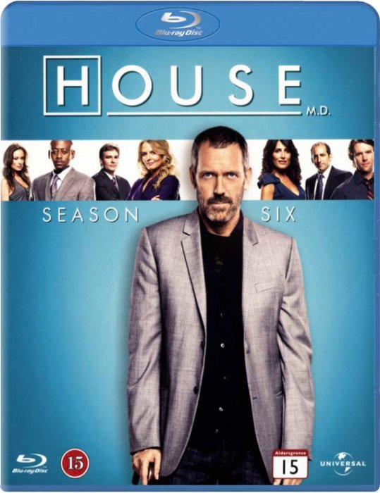 Image of   House M.d. - Sæson 6 - Blu-Ray - Tv-serie