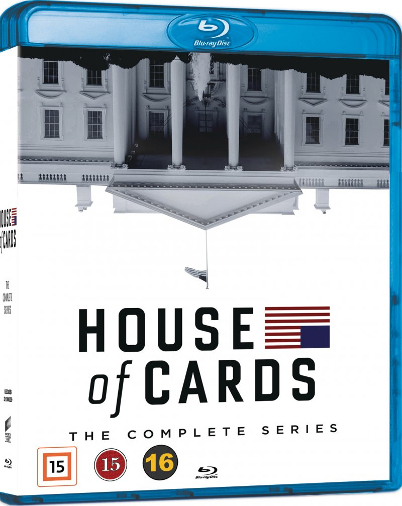 Image of   House Of Cards - Den Komplette Serie - Sæson 1-6 - Blu-Ray - Tv-serie