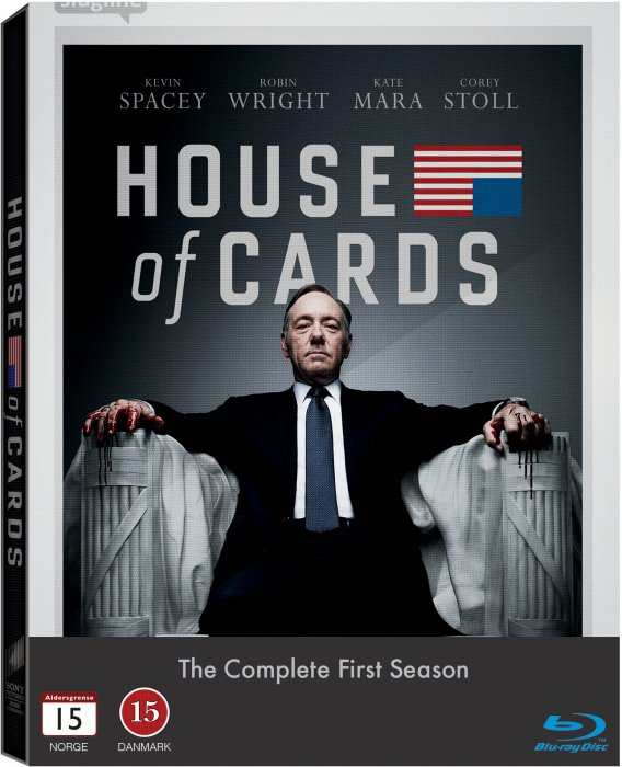 House Of Cards - Sæson 1 - Blu-Ray - Tv-serie