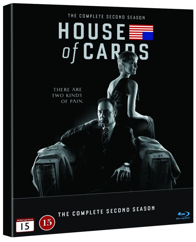 Image of   House Of Cards - Sæson 2 - Blu-Ray - Tv-serie